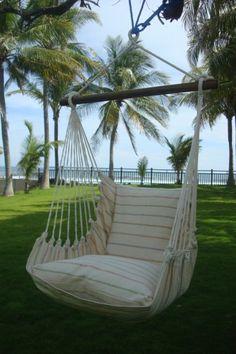 In Der Sonne Entspannen - Die Seele Kann Man Im Hängesessel ... Gemutliche Hangematte Fur Den Garten Zum Entspannen