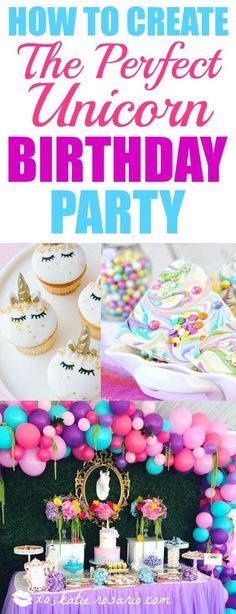 e2db791ecf How to Throw the Perfect Unicorn Party