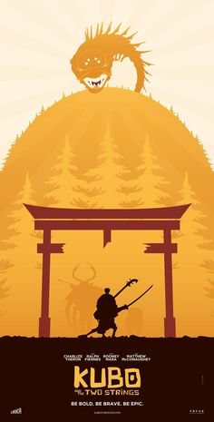 Kubo and the Two Strings Poster - Julien Rico Jr.