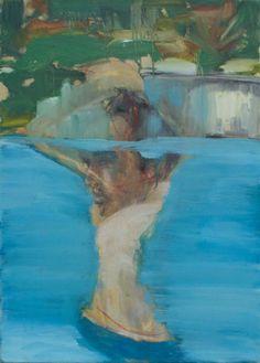 In the Swimmingpool - SOLD, Pauline Zenk