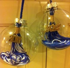 Simple Graduation Party Ideas from SimpleSolutionsDiva.com. Pictured: Graduation Tassel Ornament.
