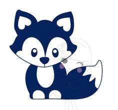 Vosje- cute addition to a kids card