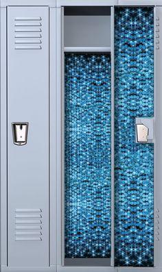 Sparkled Sapphire Diamond Locker Wallpaper