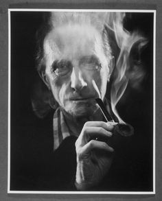 Marcel Duchamp (With Pipe) - Photo by John D. Schiff
