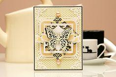 Spellbinders Butterfly Card