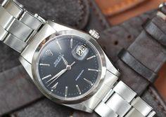 #Rolex #Oysterdate #Precision #6694 #1958 #blackdial #vintage #watches #steinermaastricht
