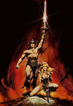 Conan the Barbarian - Renato Casaro [Poster]
