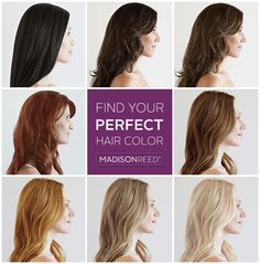 Get healthier #haircolor with amazing results.  No harsh chemical odor or burn when applied.  You'll love your hair's vibrant shine and long-lasting color. Take our Color Quiz to find your perfect shade!