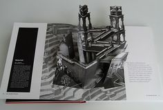 M.C. Escher pop up book