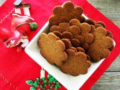 Antipastaa: Äidin viljattomat piparkakut (viljaton, gluteeniton, maidoton vaihtoehto, paleo) Gingerbread Cookies, Paleo, Desserts, Food, Tailgate Desserts, Ginger Cookies, Deserts, Essen, Dessert