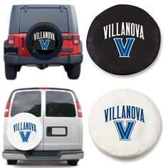 Villanova Wildcats Exact Fit Tire Cover, Visit SportsFansPlus.com for discount coupon.