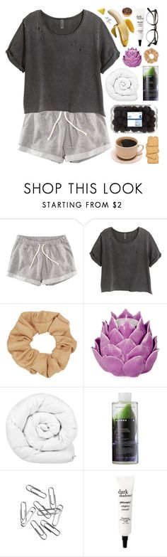 """Untitled #65"" by purple-berries ❤ liked on Polyvore featuring H&M, Topshop, Zara Home, Brinkhaus, Korres, philosophy, polyvorecommunity and polyvoreeditorial"