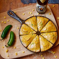 CosmoCookie: Jalapeño Beer Cornbread