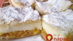 Fantastický a jednoduchý: Jablkovo-pudingový koláč z lístkového cesta