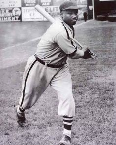 Josh Gibson, Negro Leagues,   said to be the greatest player of all time.   He is in the Hall of Fame!