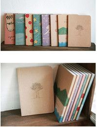 Free shipping! 2014 new Free shipping korean Stationery New vintage style paint pattern Notebook Paper Notepad