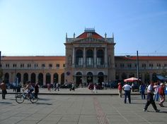 Zagreb Central Station.