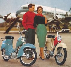 vintage mopeds