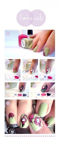 How to do zombie nails