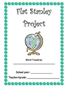 FLAT STANLEY PROJECT - EVERYTHING YOU NEED! - TeachersPayTeachers.com