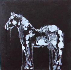 "Saatchi Art Artist Francesca Romana Pinzari; Painting, ""Horse"" #art"