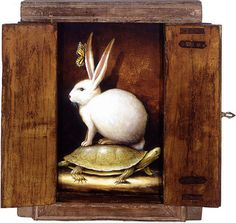 Hare and Tortoise by Kevin Sloan.