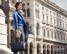 Marie Claire Korea Featuring Lee Yo Won's Milan Fashion Diary