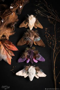 Shop masters Secret Jar (genriette) on Livemaster. Join the largest marketplace for buying and selling handmade work and design things. Silkworm Moth, Fabric Brooch, Insect Jewelry, Textiles, Taxidermy, Cool Toys, Textile Art, Mother Nature, Sculpture Art