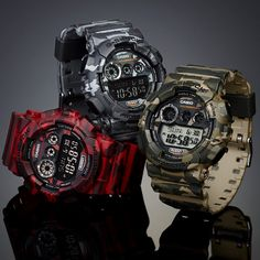 G-Shock Camo Pack | MATÉRIA:estilo