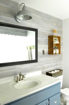 Whitewashed Plank Wall Tutorial