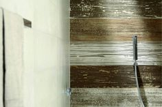 Porcelain stoneware wall tiles / flooring DOCKS by ABK Industrie Ceramiche Wood Look Tile Floor, Wall And Floor Tiles, Wall Tiles, Floor Design, Tile Design, Design Room, Timber Tiles, Unique Tile, Weathered Wood