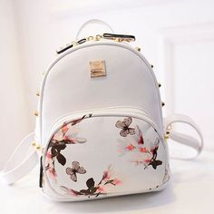 New Girl School Bag Travel Cute Backpack Satchel Women Shoulder Rucksack GYFU in Clothing, Shoes & Accessories, Women's Handbags & Bags, Backpacks & Bookbags Leather Backpacks For Girls, Cute Mini Backpacks, Girl Backpacks, Cute Backpacks For Women, Cute Backpacks For Traveling, Cute Backpacks For School, Small School Bags, School Bags For Girls, Small Bags