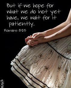 wait on God . . .