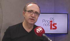 Na Bandeirantes, Reinaldo Azevedo diz que sua saída da Pan foi resultado de desgaste mútuo