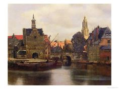 Johannes Vermeer (1632-1675)   View of Delft c.1660-61