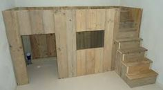 Afbeeldingsresultaat voor steigerhout hoogslaper