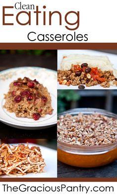 Clean Eating Casseroles (Recipes)
