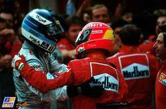 Achtergrond: Häkkinen en Schumacher in Macau - GPUpdate.net