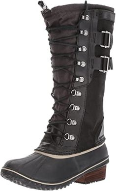 online shopping for Sorel Women's Conquest Carly II Snow Boot from top store. See new offer for Sorel Women's Conquest Carly II Snow Boot Black Snow Boots, Snow Boots Women, Winter Boots, Sorel Snow Boots, High Heel Boots, Heeled Boots, Shoe Boots, Wrap Heels, Mid Calf Boots