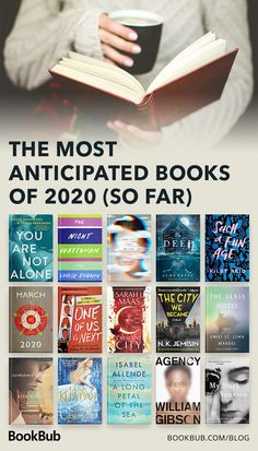 21 Books We Can't Wait to Read in 2020 Including new releases from Erik Larson, Isabel Allende, and Mary Kubica. Great Books To Read, Good Books, My Books, Reading Books, Best Books Of All Time, Teen Books, Children Books, Book Club Books, Book Nerd