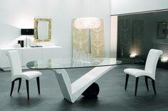 Get Inspired For Your Luxury Dining Room With Cattelan Italia   www.bocadolobo.com #moderndiningtables #diningtables #diningroom #thediningroom #diningarea #diningareadesign #roomdesign #exclusivedesign #luxury #luxuryinteriors #luxuryroom #luxurious  #italianbrands #luxurybrands