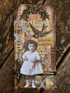 My Version Of Tim Holtz's April 12 tags of 2014