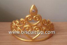 Coroa de Princesa - Canal Aula de Biscuit