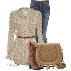 """FEELIN A LITTLE BIT COUNTRY"" by happygirljlc on Polyvore"