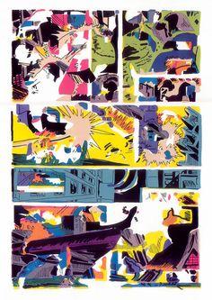 Screenprints by JD Deardourff.