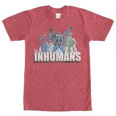 Inhumans Groupshot T Shirts, Hoodies, Sweatshirts. CHECK PRICE ==► https://www.sunfrog.com/Geek-Tech/Inhumans-Groupshot.html?41382