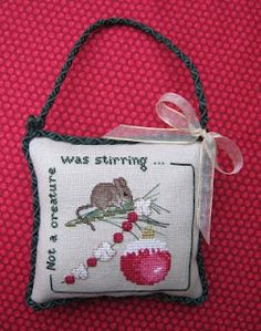"""""""Not a Creature Was Stirring"""" by Crossed Wing Collection (featured in the 1998 JCS Ornament issue)"""