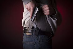 Find out which concealed carry method and what the best holster options will work best, either iwb holsters or appendix holsters Best Concealed Carry Holster, Best Handguns, Iwb Holster, Guns And Ammo, Self Defense, Go Shopping, Hand Guns, Carry On