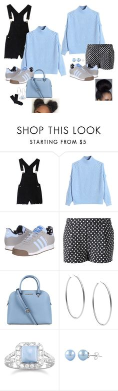 """""""Bird"""" by book-writer2002 on Polyvore featuring WithChic, adidas Originals, Band of Outsiders, Michael Kors, women's clothing, women's fashion, women, female, woman and misses"""