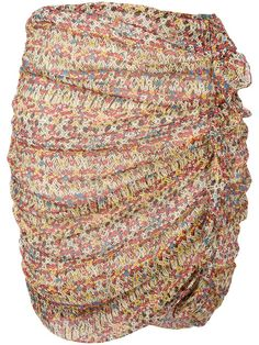 Isabel Marant Étoile Ruffle-trimmed printed skirt